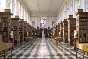 La sala al piano terra della Trinity