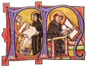 Miniatori da un antico codice