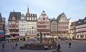 Il centro storico di Francoforte