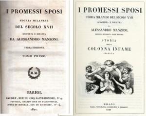 Prime edizioni manzoniane