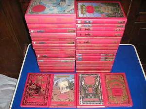 Tutte le prime edizioni francesi di Verne