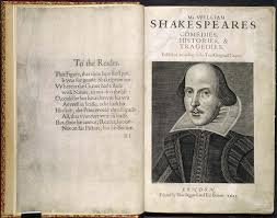 Frontespizio del First Folio