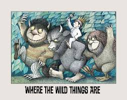 "La copertina di ""Where the wild things are"""